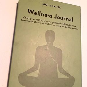NWT Moleskine Wellness Journal